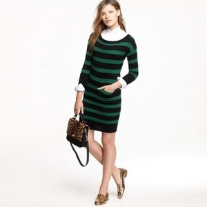 J Crew sweater dress wool/ cashmere
